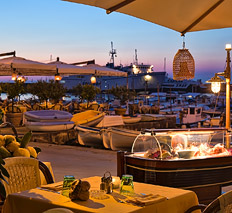 Restaurant serving typical cuisine of Capri